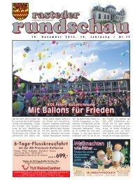 rasteder rundschau, Ausgabe November 2011
