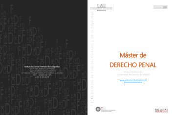 Folleto Master Derecho Penal 2014-2015
