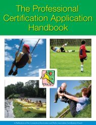 CRPA Guide FINAL CS2.indd - Connecticut Recreation and Parks ...