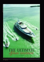 SuperYachts as Investments - Trinity Yachts