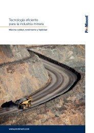 Folleto - Tecnología eficiente para la industria minera [3,37 MB]