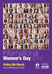 IWD Brochure 2013 - Centre for HIV & Sexual Health
