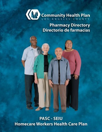 Pharmacy Directory Directorio de farmacias PASC - Los Angeles ...