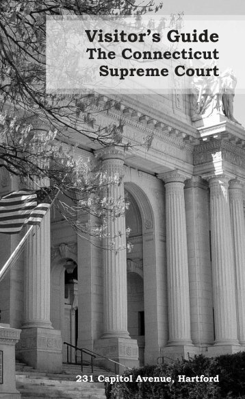 Visitor's Guide to the Connecticut Supreme Court