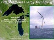 Walt Musical, National Renewable Energy Laboratory - Wisconsin ...