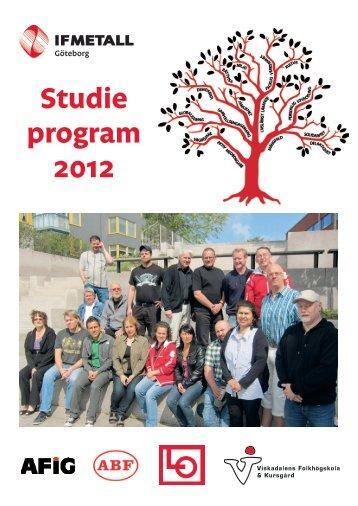 Studie program 2012 - IF Metall