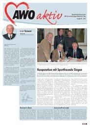 Kooperation mit Sportfreunde Siegen - AWO Kreisverband Siegen ...