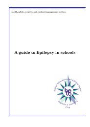 Epilepsy is the second most common neurological disorder (after ...