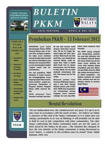 buletin pkkm edisi 1 - Universiti Malaya