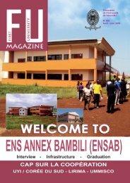 Télécharger First University - Université de Yaoundé I