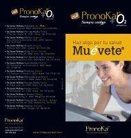 Condiciones exclusivas para pacientes PronoKal
