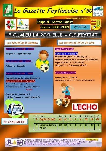 La Gazette Feytiacoise n°30 - Footeo