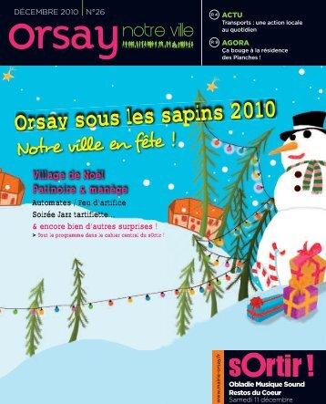 Orsay, notre ville - n°26 décembre