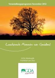 Veranstaltungskalender Frankfurt/Main