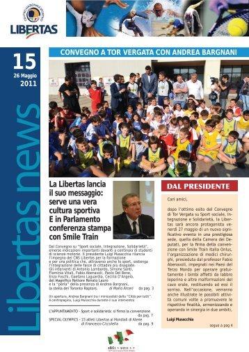 LIBERTAS NEWS n. 15 - 26 maggio 2011