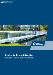 Heading in the right direction - Union Investment