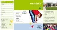 mini fit•point - St. Petri Kinder und Jugendhilfe