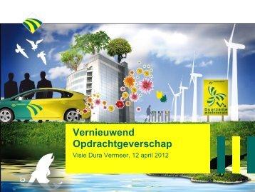 ppt van Dura Vermeer