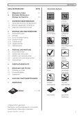 Anleitung für Montage, Betrieb und Wartung Installation, Operating ... - Page 3