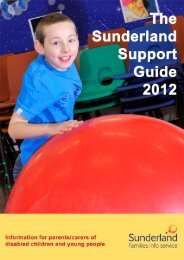 Sunderland Support Guide 2012.pdf - North View School
