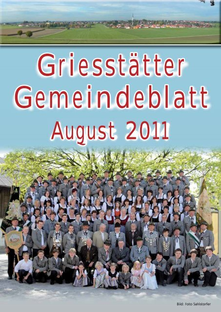 Gemeindeblatt August 2011 - Griesstätt