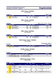 Kreismeisterschaften Aktive und Jugend 14.+15.05.11 - LVN Oberberg