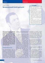 Beraterauswahl leicht gemacht - Heinold, Spiller & Partner ...