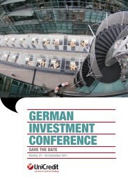 German Investment Conference 2012