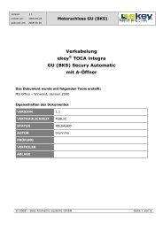 ekey Verkabelungsplan GUBKS.pdf - alu-one Metallbaupartner GmbH