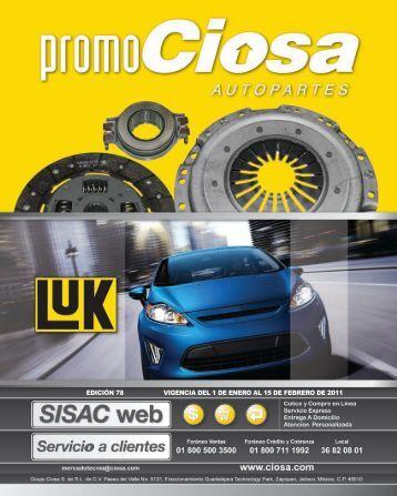 edición 78 vigencia del 1 de enero al 15 de febrero de 2011
