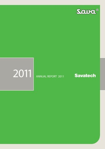 A decade of growth - Savatech