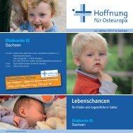 20. Aktion Hoffnung für Osteuropa - Diakonie Sachsen