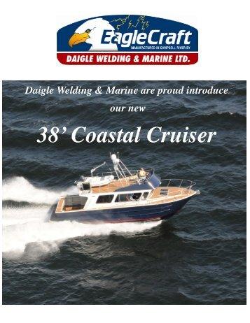 38' Coastal Cruiser Brochure - Daigle Welding and Marine