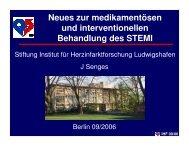 IHF 09/06 - Berliner Herzinfarktregister
