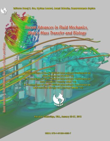 RECENT ADVANCES in FLUID MECHANICS, HEAT - Wseas.us