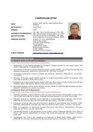Associate Professor Sr. Dr. Mohd Sanusi's CV - School of Civil ...