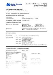 Salzsäure-Maßlösung 5 mol/l (5N) Artikelnummer 5565 - Windaus