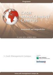 cash management campus - Finance Magazin