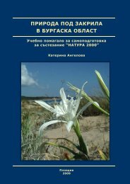 природа под закрила в бургаска област - Българска Фондация ...