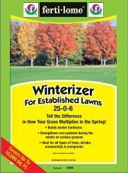 10896 Winterizer 25-0-6 Approved 03-03-11.pdf - Fertilome