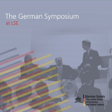 The German Symposium - LSESU German Society