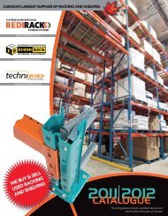 canada's largest supplier of racking and shelving - Econo-Rack