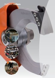 Hydraulic cutters - Eiva-Safex