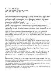 8. s. e. trin. 2012. Lyngby Mika 3,5-7; 1. Johs. 4,1-6; Matt. 7,22-29 ...