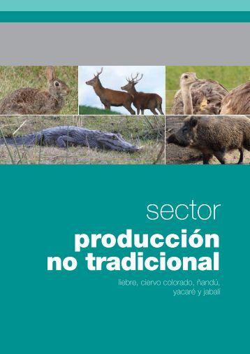 producción no tradicional