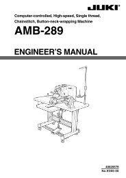 Textile & Apparel Equipment ORIGINAL JUKI MH-486 LOOPER THREAD ...