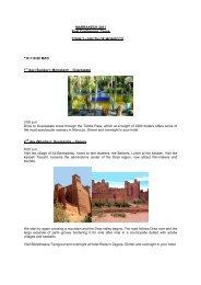 Tour South of Morocco - fawco