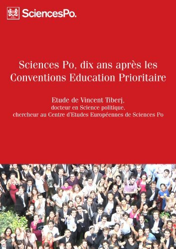 étude de Vincent Tiberj - Sciences Po