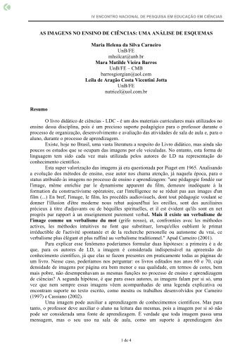 AS IMAGENS NO ENSINO DE CIÊNCIAS: UMA ... - Axpfep1.if.usp.br