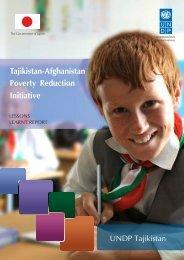 English - UNDP in Tajikistan